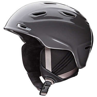 Smith Arrival Womens Helmet, Metallic Black, viewer