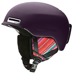 Smith Allure Womens Helmet 2017, Matte Black Cherry Cuzco, 256