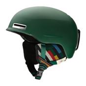 Smith Maze Helmet 2017, Matte Forest Woolrich, medium