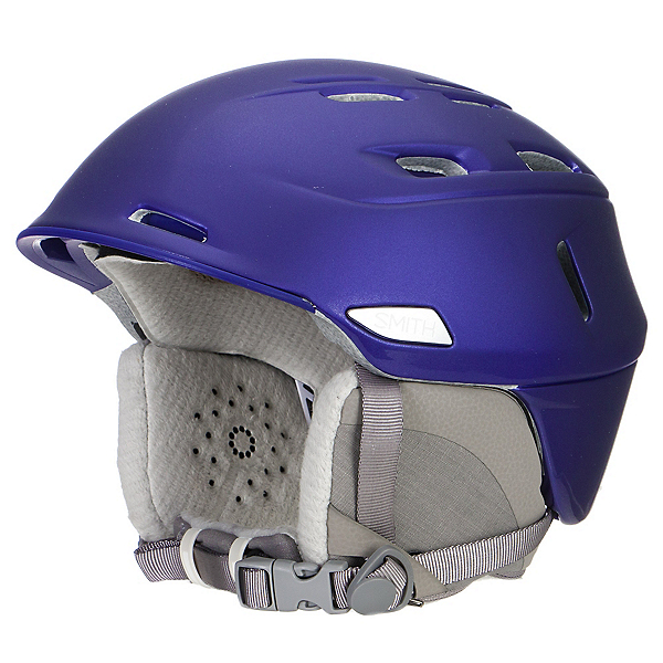 Smith Compass Womens Helmet, Satin Ultraviolet, 600
