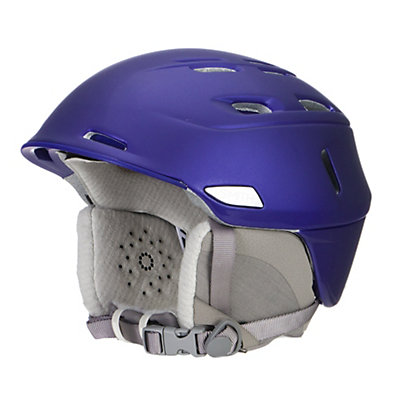 Smith Compass Womens Helmet, Satin Ultraviolet, viewer