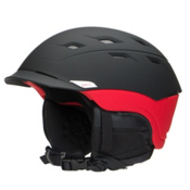 Smith Variance Helmet 2016, Matte Black-Red, medium