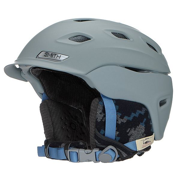 Smith Vantage Womens Helmet 2017, Matte Frost Woolrich, 600
