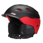 Smith Vantage Helmet 2016, Matte Black-Red, medium