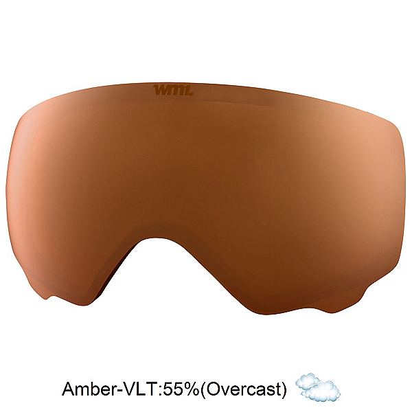 Anon WM1 Goggle Replacement Lens 2018, Amber, 600