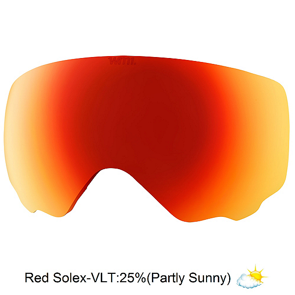 Anon WM1 Goggle Replacement Lens 2017, Red Solex, 600