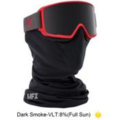 Anon M3 Goggles 2016, Ruby Red-Dark Smoke + Bonus Lens, medium