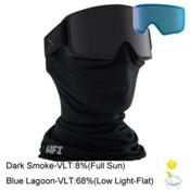 Anon M3 Goggles 2017, Black-Dark Smoke + Bonus Lens, medium