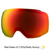 Anon M2 Goggle Replacement Lens 2018, Red Solex, medium