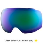 Anon M2 Goggle Replacement Lens 2017, Green Solex, medium