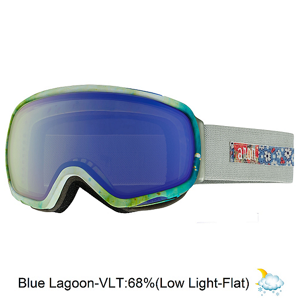 Anon Tempest Womens Goggles, Crafty-Blue Lagoon, 600