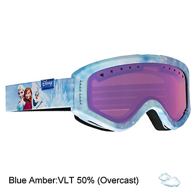 Anon Tracker Kids Goggles 2017, Frozen-Blue Amber, viewer