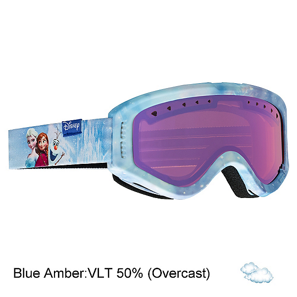 Anon Tracker Kids Goggles, Frozen-Blue Amber, 600