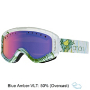Anon Tracker Kids Goggles, Mermaid-Blue Amber, medium