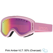 Anon Tracker Kids Goggles, Cotton Candy-Pink Amber, medium