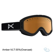Anon Tracker Kids Goggles, Black-Amber, medium