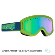 Anon Tracker Kids Goggles, Gremlin-Green Amber, medium