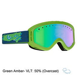 Anon Tracker Kids Goggles, Gremlin-Green Amber, 256