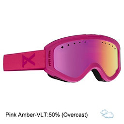 Anon Tracker Kids Goggles, Pink-Pink Amber, 256