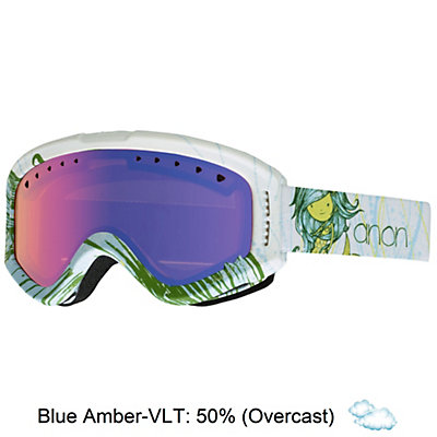 Anon Tracker Kids Goggles, Mermaid-Blue Amber, viewer