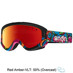 Anon Tracker Kids Goggles, Wild Thing-Red Amber, 256