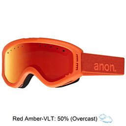 Anon Tracker Kids Goggles, Cheeto-Red Amber, 256