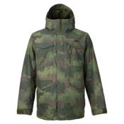 Burton Covert Mens Insulated Snowboard Jacket, Oil Camo, medium