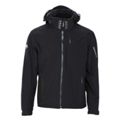 Descente Swiss WC Mens Insulated Ski Jacket, Black, medium