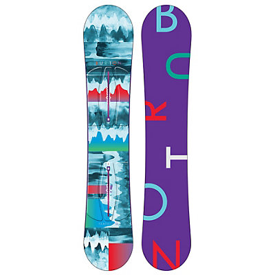Burton Feather Womens Snowboard, 144cm, viewer