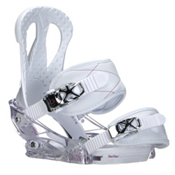 Burton Citizen Womens Snowboard Bindings 2016, White, medium
