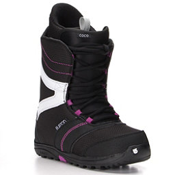 Burton Coco Womens Snowboard Boots, Black-Purple, 256
