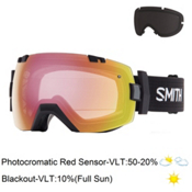 Smith I/OX Photochromic Goggles 2017, Black-Photochromic Red Sensor + Bonus Lens, medium