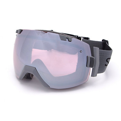 Smith I/OX Goggles 2017, Charcoal-Ignitor Mirror + Bonus Lens, viewer