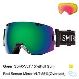 Smith I/OX Goggles 2017, Abma Id-Green Sol X Mirror + Bonus Lens, 256