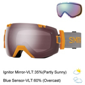 Smith I/OX Goggles 2017, Solar-Ignitor Mirror + Bonus Lens, medium