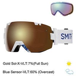 Smith I/OX Goggles 2017, Xavier Id-Gold Sol X Mirror + Bonus Lens, 256