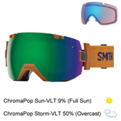 Smith I/OX Goggles 2017, Cargo-Chromapop Sun + Bonus Lens, medium