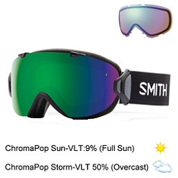 Smith I/OS Womens Goggles 2017, Black-Chromapop Sun + Bonus Lens, 256