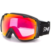 Smith I/O Photochromic Goggles 2016, Black-Photochromic Red Sensor + Bonus Lens, medium