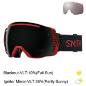 Smith I/O7 Goggles 2017, Sage Id-Blackout + Bonus Lens, medium