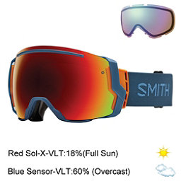 Smith I/O7 Goggles 2017, High 5-Red Sol X Mirror + Bonus Lens, 256