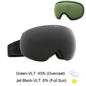 Electric EG3 Goggles, Matte Black-Jet Black + Bonus Lens, medium