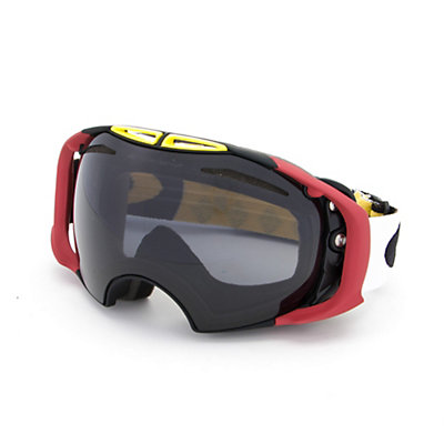 Oakley Airbrake Goggles, Flight Series Wildcat-Dark Grey + Bonus Lens, viewer