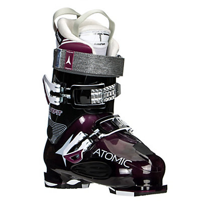 Atomic Live Fit 90 W Womens Ski Boots 2017, Transparent Purple-Black, viewer