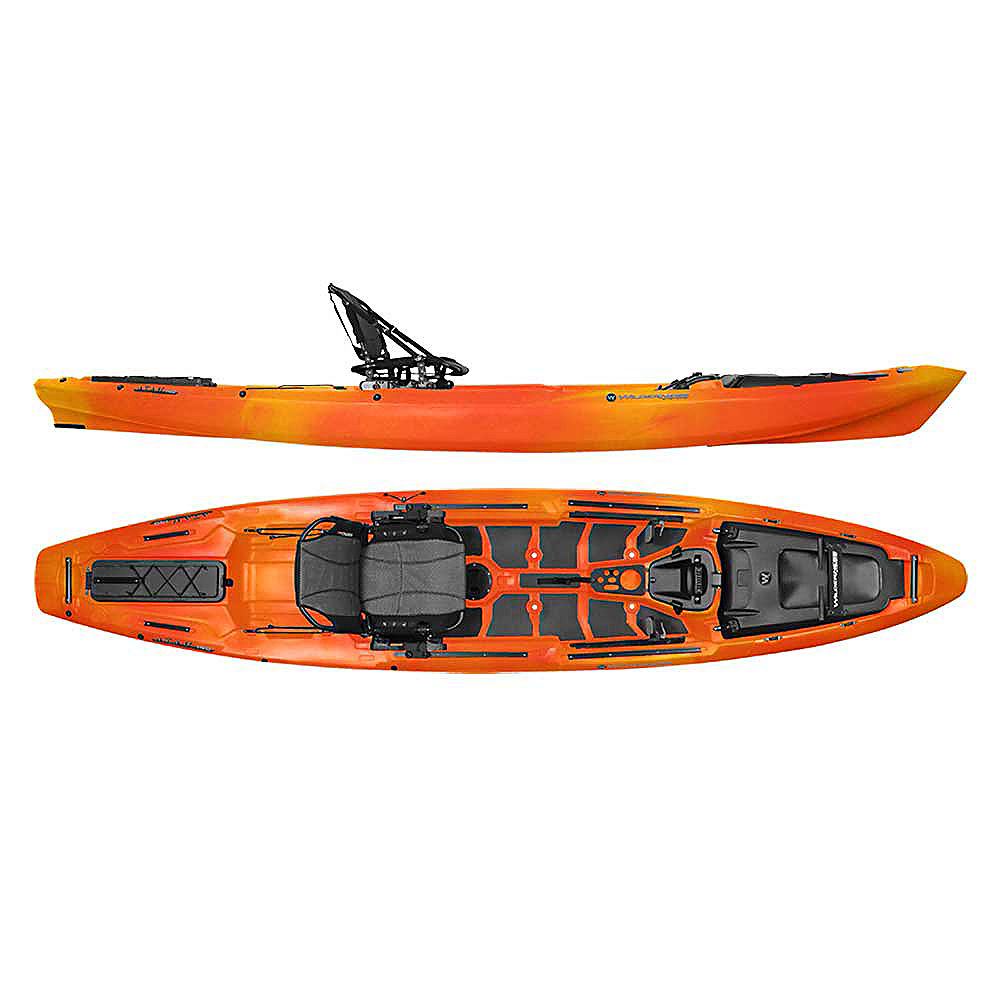 Wilderness systems atak 140 fishing kayak for Wilderness systems fishing kayaks