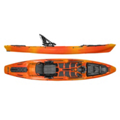 Wilderness Systems ATAK 140 Fishing Kayak, Mango, medium