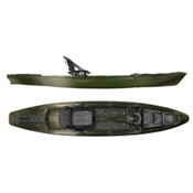 Wilderness Systems Atak 140 Fishing Kayak 2015, Camo, medium