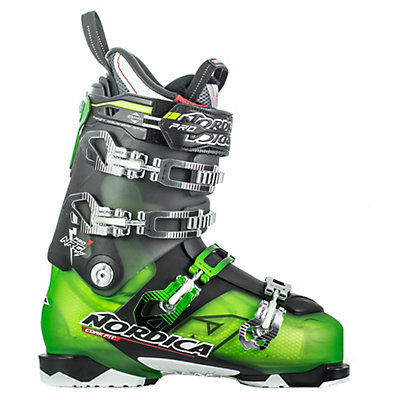 Nordica NRGy Pro 1 LE Ski Boots, Green-Black, viewer