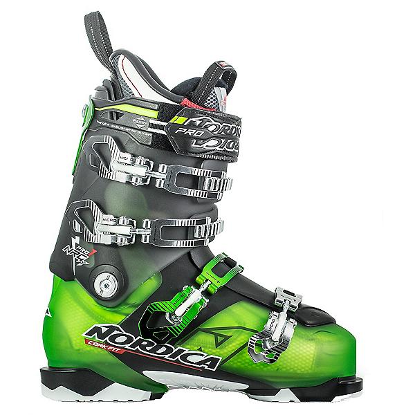 Nordica NRGy Pro 1 LE Ski Boots, Green-Black, 600
