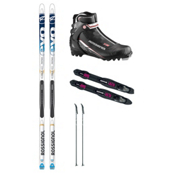 Rossignol Evo Tour NIS Cross Country Ski Package, , medium
